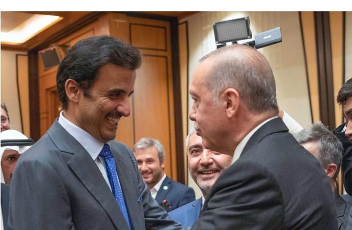 أمير قطر وأردوغان يبحثان علاقات البلدين والتطورات في سوريا