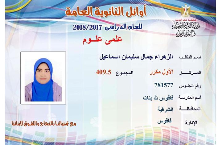 أبناء معتقلين من أوائل الثانوية وتعليم مصر ترفض تكريمهم