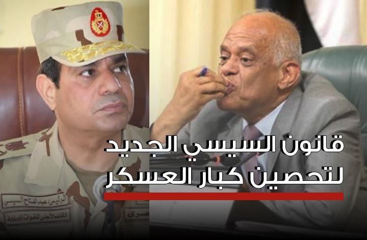 بالقانون.. رفاق السيسي فوق القانون ومع الوزراء