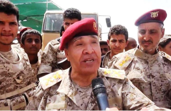 هادي يأمر بوقف قائد عسكري بارز انتقد التحالف باليمن (شاهد)