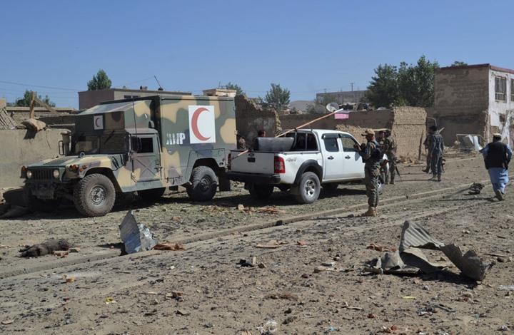 """قتلى وجرحى بهجوم على قاعدة للجيش الأفغاني في """"غزنة"""""""