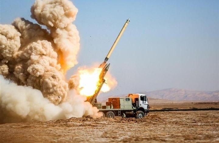 قصف إيراني بالصواريخ على مسلحين بكردستان العراق (شاهد)