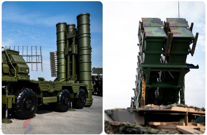 """""""أس400"""" الروسية وباتريوت الأمريكية.. أيهما أقوى؟ (إنفوغراف)"""
