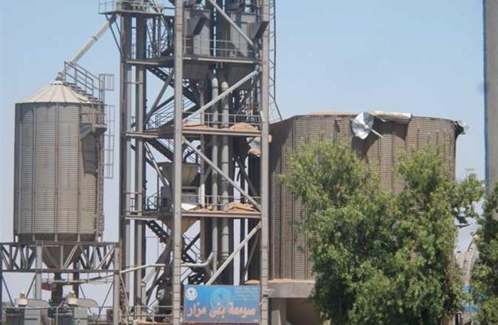 لحظة انهيار صومعة قمح بمصر أنشأها الجيش قبل عام (فيديو)