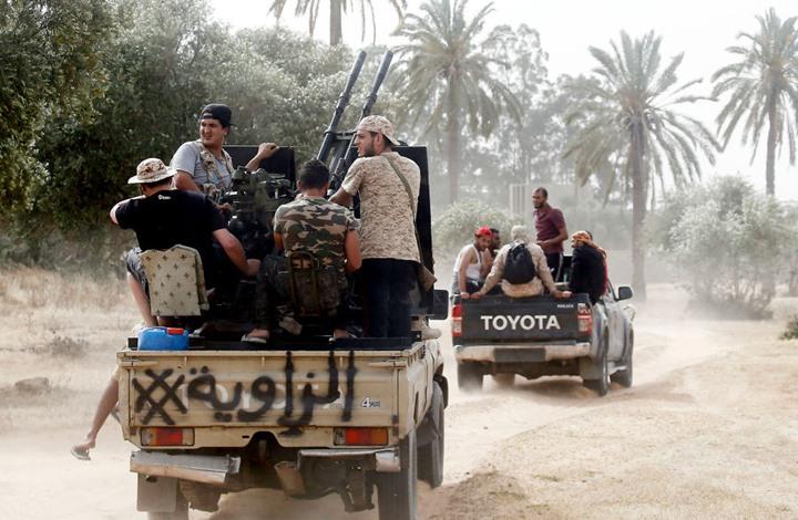 قوات حفتر تخرق وقف النار جنوبي طرابلس.. والوفاق تتصدى