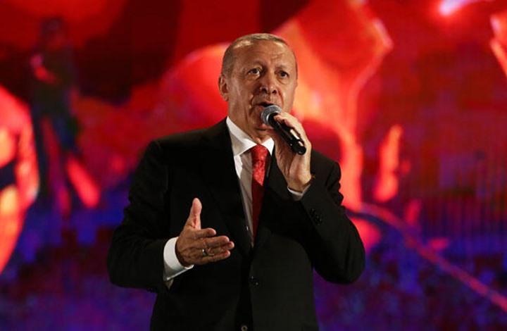 """أردوغان يكشف حجم سيطرة """"نبع السلام"""" منذ انطلاقها"""