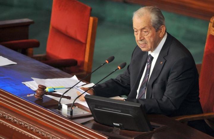 رئيس البرلمان التونسي يؤدي اليمين رئيسا مؤقتا للبلاد