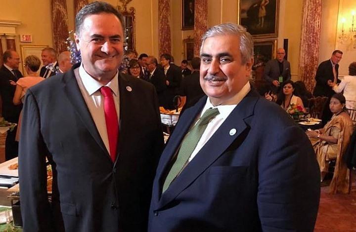 """وزير خارجية البحرين يتلقى """"تهنئة الأضحى"""" من وزير إسرائيلي"""