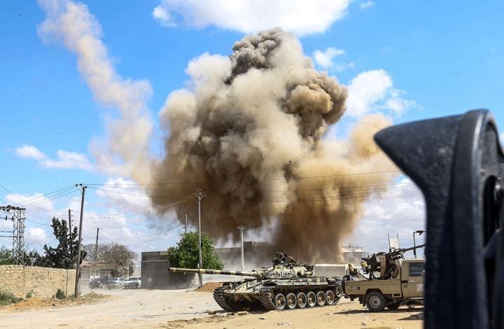 """الاشتباكات تتجدد بين """"الوفاق"""" وحفتر جنوبي طرابلس"""