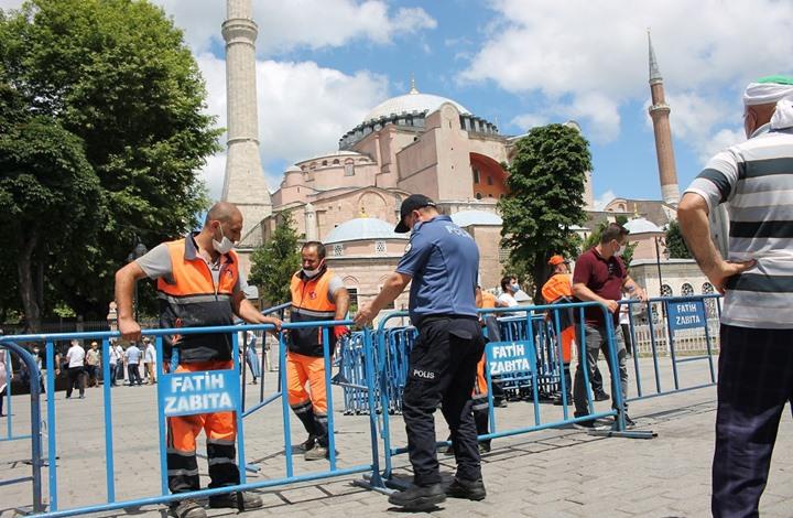 """القضاء التركي يعيد اعتبار """"آيا صوفيا"""" مسجدا (شاهد)"""