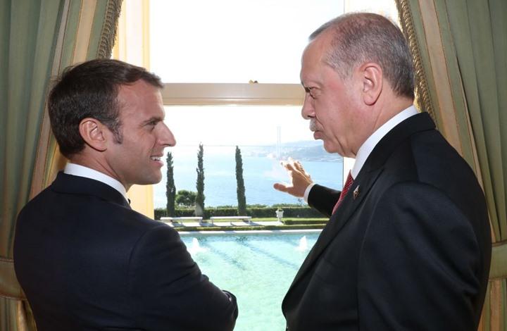 """ماكرون يغرد باللغة التركية ويدعو لحوار مسؤول بـ""""المتوسط"""""""