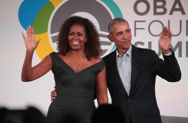 """ميشيل أوباما تنشر أغنية """"مؤثرة"""" عن السود (شاهد)"""