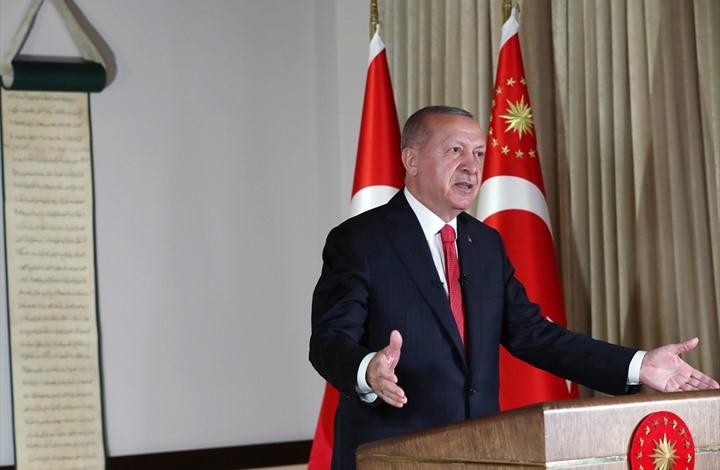 أردوغان: إحياء آيا صوفيا بشارة حرية للمسجد الأقصى