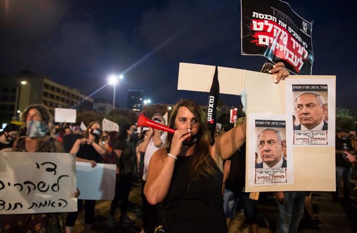 تصدع تحالف نتنياهو-غانتس وتواصل المظاهرات ضد الحكومة