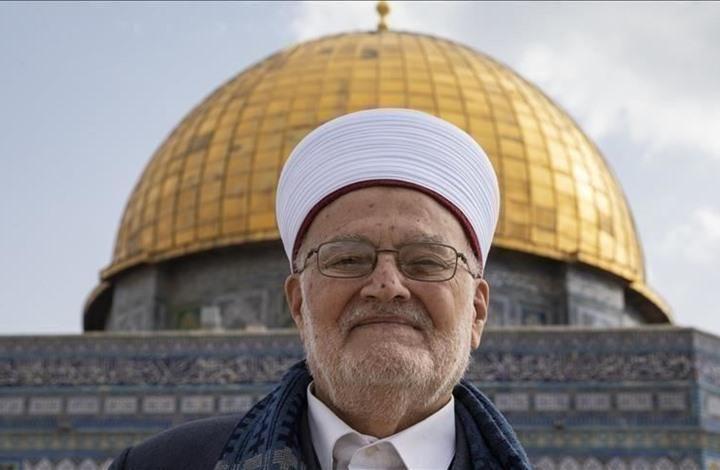 خطيب المسجد الأقصى يهنئ تركيا والمسلمين بـ