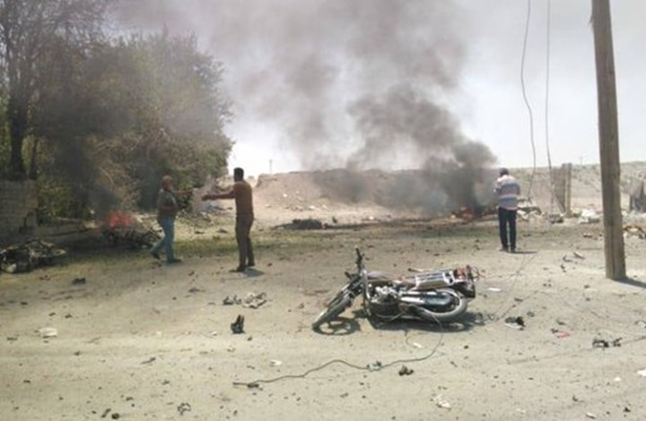مقتل مدنيين بانفجار في رأس العين السورية (شاهد)