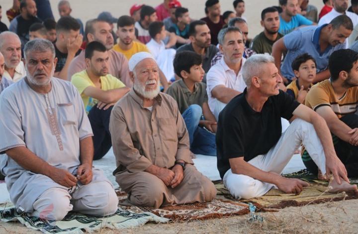 تأدية صلاة العيد بالأقصى.. هكذا بدت المظاهر بغزة (شاهد)