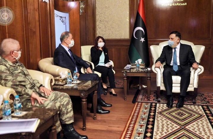 """ما علاقة زيارة """"أكار"""" باستئناف الجيش الليبي لعملية سرت؟"""