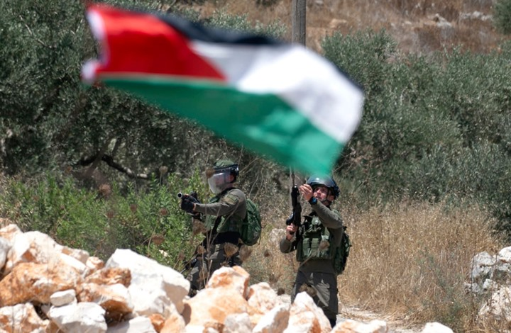 """إصابات باحتجاجات فلسطينية رافضة لـ""""الضم"""" بالضفة (شاهد)"""