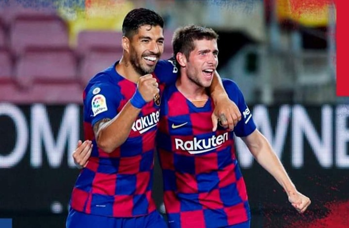 برشلونة يفوز على إسبانيول ويواصل مطاردة ريال مدريد