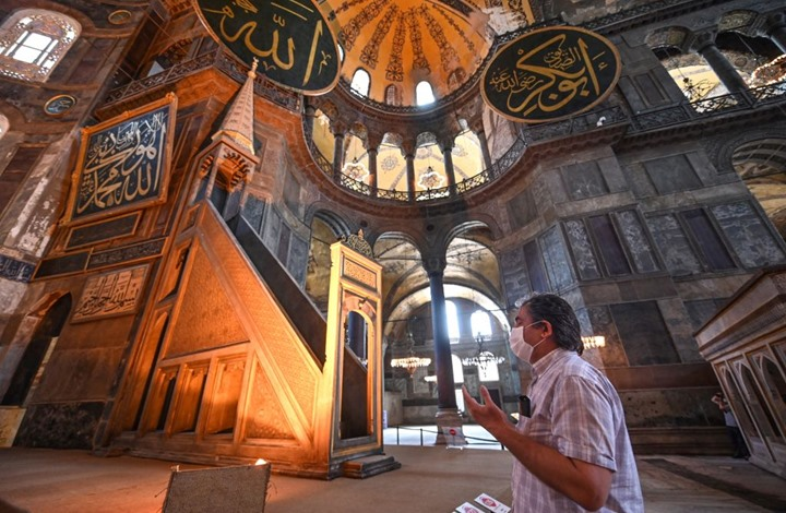 """إعلام تركي: مجلس الدولة يعلن قراره بشأن """"آيا صوفيا"""" الجمعة"""