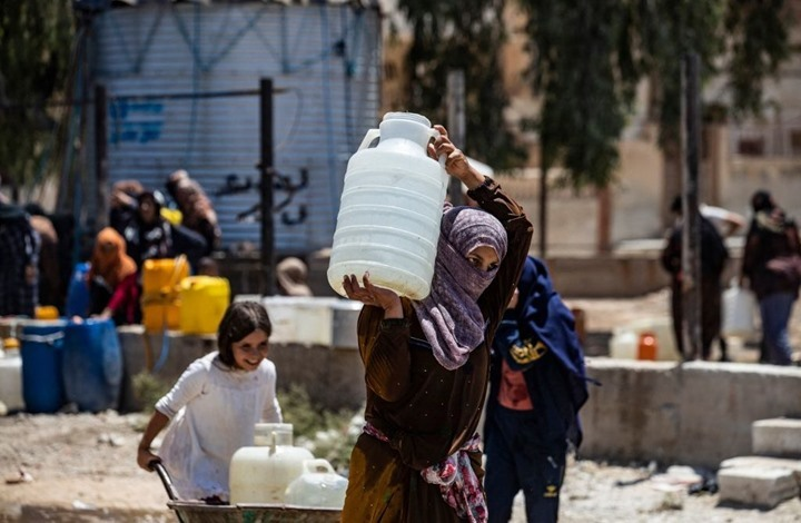 نحو مليون سوري شمالي شرق البلاد مهددون بانقطاع المياه
