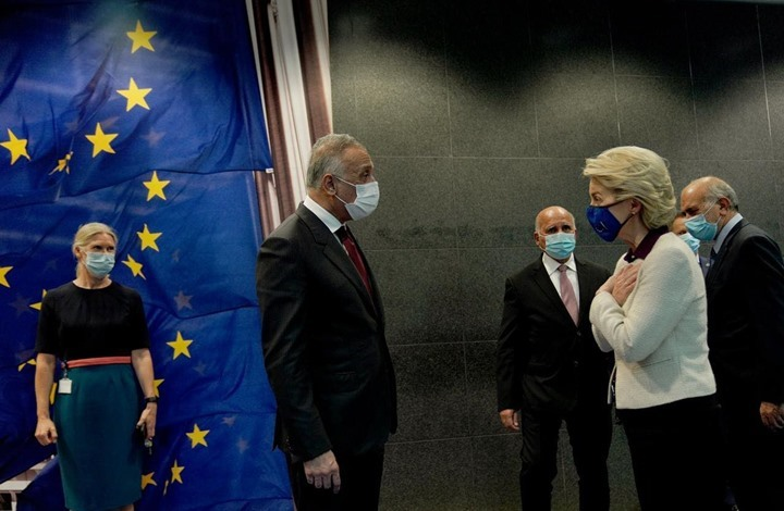 الكاظمي يبدأ جولة أوروبية من بروكسل.. ويثير ملفات هامة