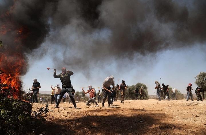 إصابات خلال مواجهات مع الاحتلال بقلقيلية ونابلس (شاهد)