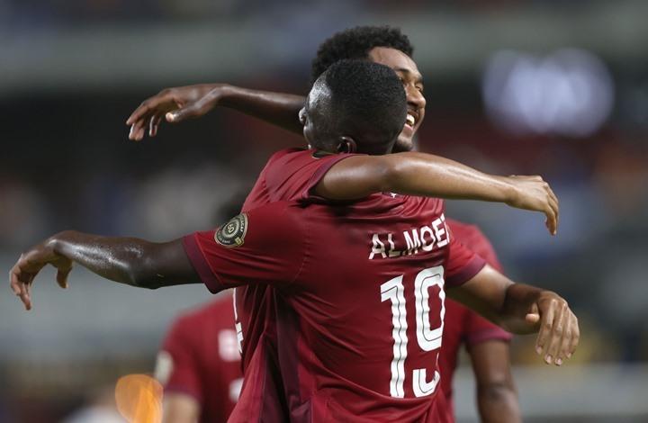 """قطر تواصل مغامرتها في """"الكأس الذهبية"""" (شاهد)"""