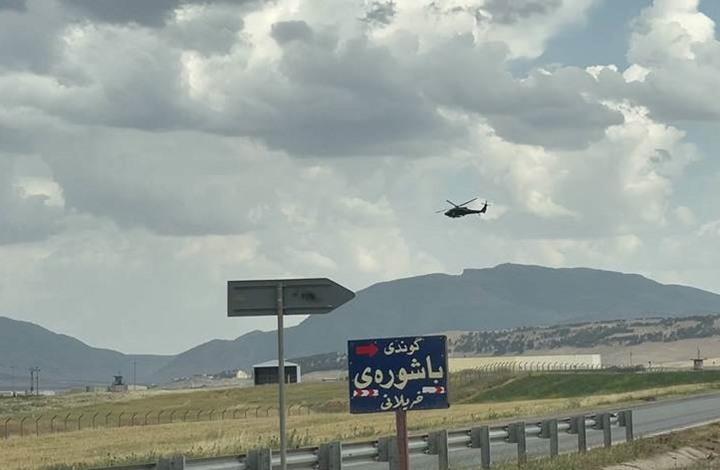 طائرة مسيرة تستهدف موقعا للتحالف الدولي بكردستان العراق