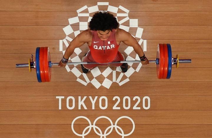 قطر تتوج بأول ميدالية ذهبية في تاريخها بالأولمبياد (شاهد)