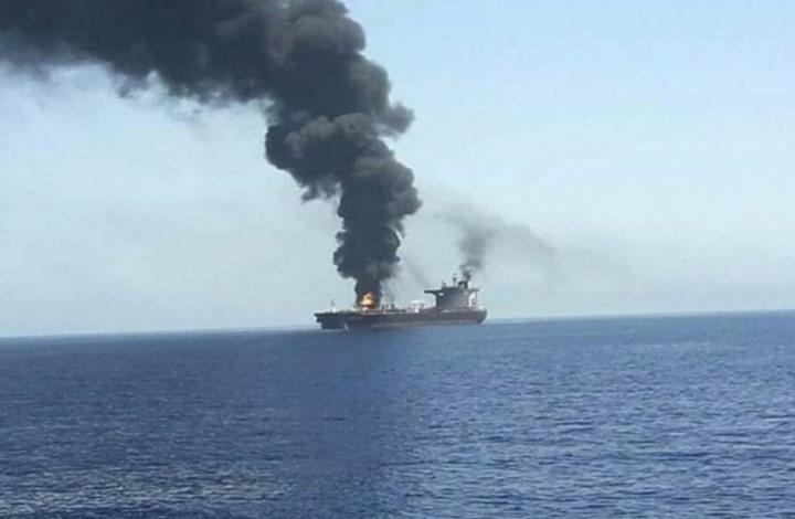 الاحتلال يجري اتصالات للرد على مهاجمة سفينته ببحر عمان