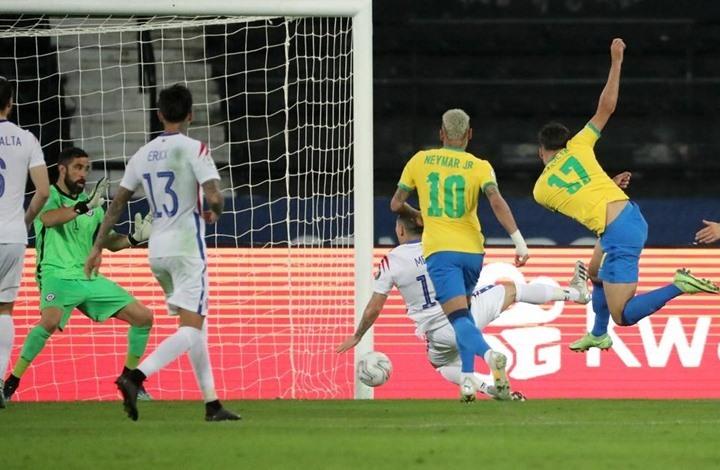 البرازيل تزيح تشيلي عن طريقها وتتأهل لنصف نهائي كوبا أمريكا