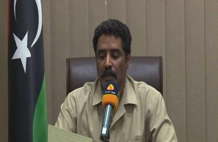 الناطق باسم عملية كرامة حفتر يهدد بشن حرب على حكومة الوفاق