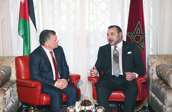 ملك المغرب يعزي الأردن في ضحايا جريمتي السلط والفحيص