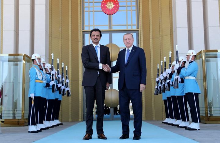 الأمير تميم يغرد عن زيارة تركيا واستثمار الـ15 مليار دولار