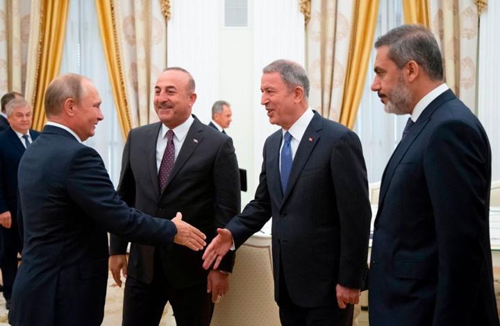 وفد تركي رفيع يتجه لموسكو لإجراء مباحثات حول ليبيا وإدلب