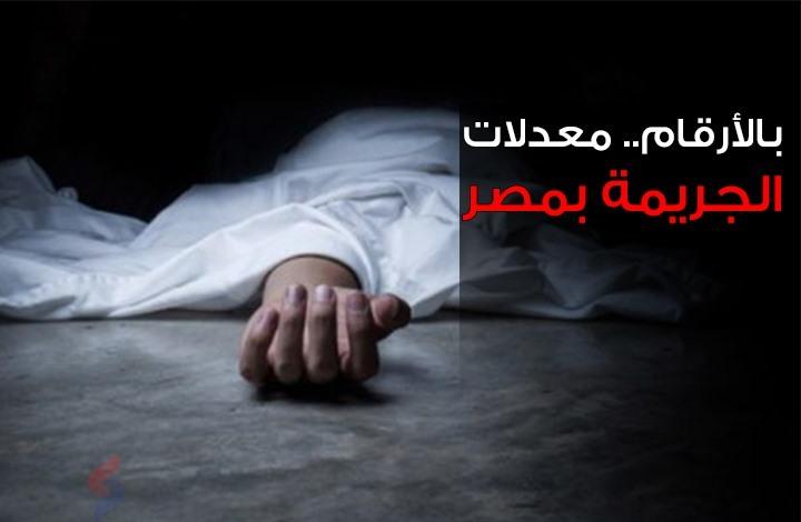 الجريمة في مصر... أرقام مقلقة (إنفوغراف)