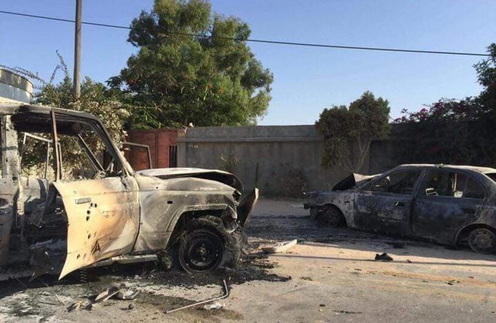 مقاتلات حكومة الوفاق تقصف معسكرين لحفتر جنوبي طرابلس