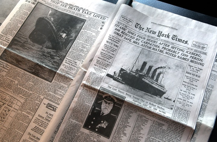 """دراسة جديدة تكشف سبب غرق سفينة """"تايتانيك"""""""