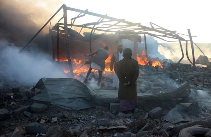 الحوثي: التحالف شن غارات على محطات للاتصالات بصعدة
