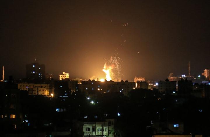 الاحتلال يقصف غزة والمقاومة ترد.. نتنياهو يعلق (شاهد)
