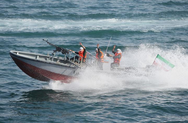 إيران تعلن احتجاز سفينة عراقية تهرب النفط (شاهد)