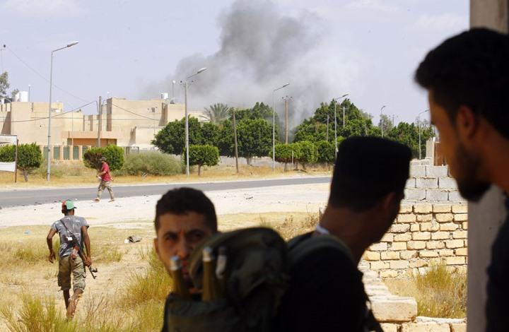 """""""الوفاق"""" تعلن سيطرتها على منطقة استراتيجية جنوبي طرابلس"""