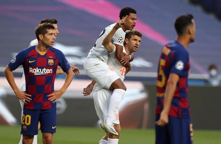 فضيحة مدوية.. بايرن يذل برشلونة بحصة ثقيلة في دوري الأبطال