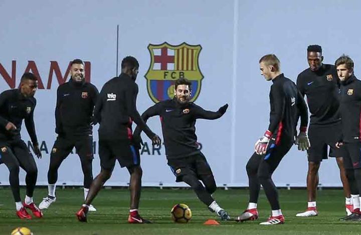 برشلونة يتلقى خبرا سعيدا قبل مواجهة بايرن ميونخ بدوري الأبطال