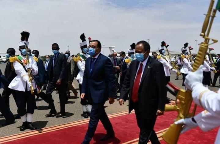 لقاءات مصرية سودانية لبحث مشروعات استراتيجية