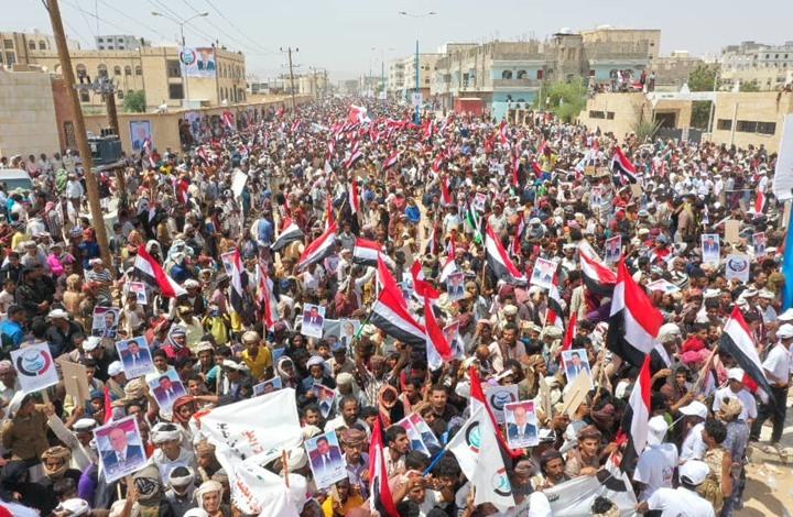 تواصل احتجاجات اليمن لليوم الثاني رفضا لسيطرة الانفصاليين