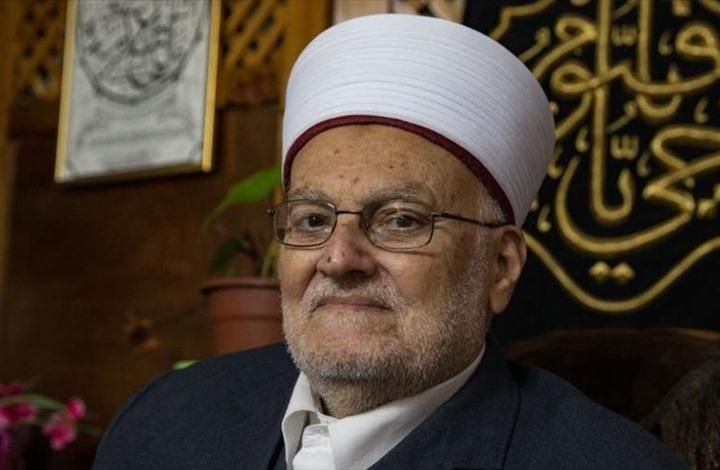 """عكرمة صبري لـ""""عربي21"""": لا حق للإمارات بالتصرف بالأقصى"""