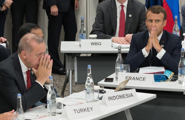 """ماكرون: لهذا تعد سياسة أردوغان """"مزعزعة"""" لأوروبا"""